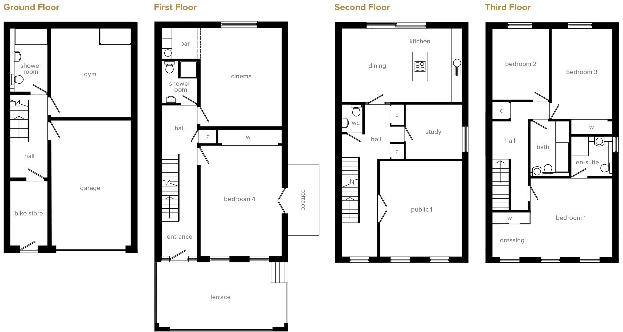 Juniper Floorplan